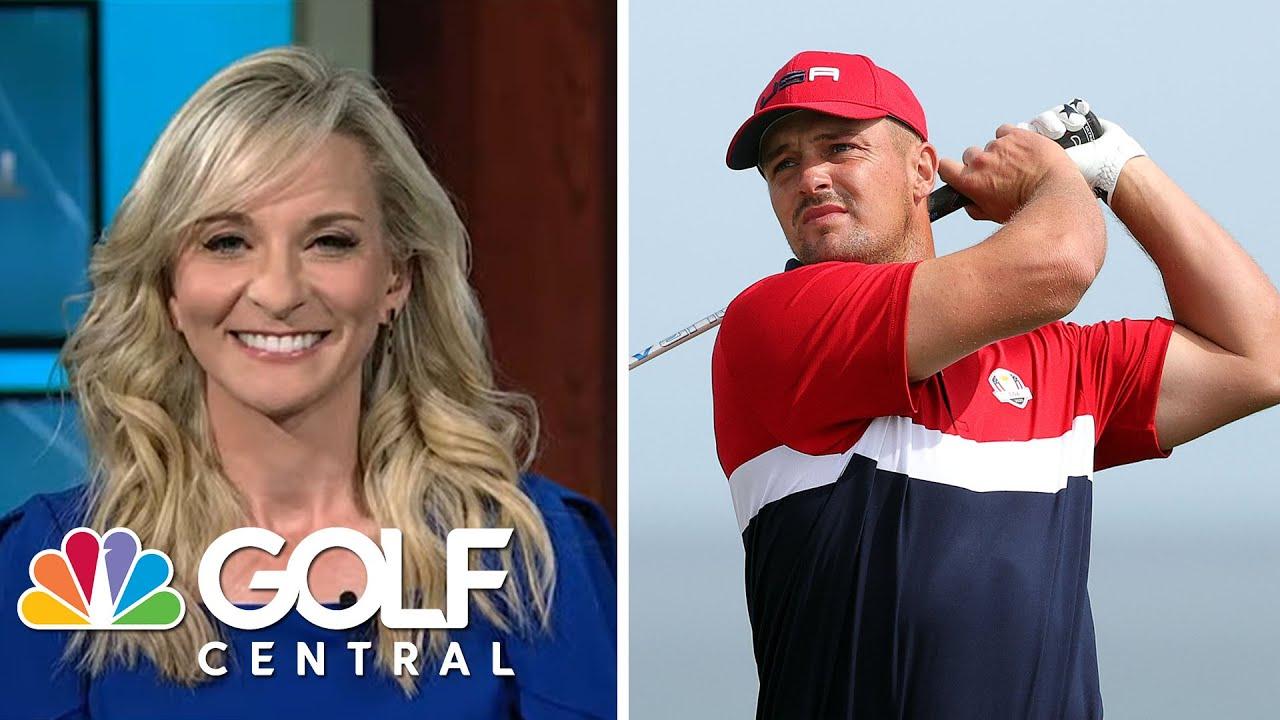 Bryson DeChambeau inspired by athleticism at PLDA World Championship | Golf Central | Golf Channel