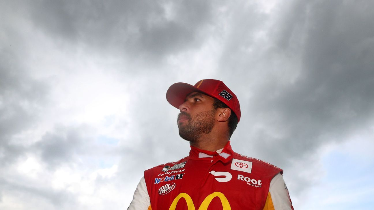 There's no raining on Bubba Wallace's first NASCAR Cup Series victory parade