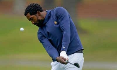 Ex-NBA star JR Smith stung by hornets, high scores during first collegiate golf tournament