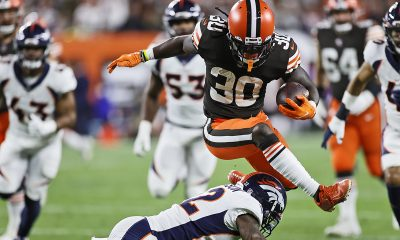 Browns' D'Ernest Johnson fulfills NFL dream in breakout performance, LeBron James takes notice