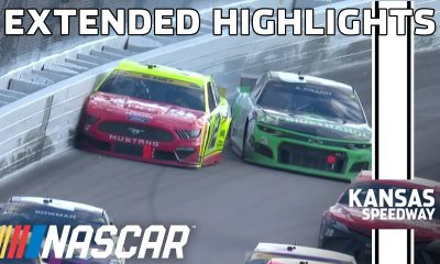 Playoff trouble for multiple drivers at Kansas | NASCAR Cup series Extended Highlights