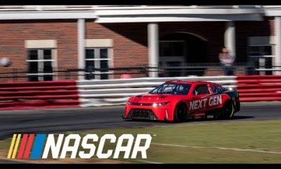 Dale Earnhardt Jr. turns laps in Next Gen session at Bowman Gray | NASCAR